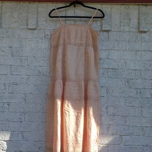 NWT Free People peach Dress